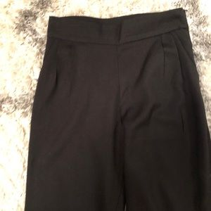 Lulu's pleated dress pants, ankle length, size M